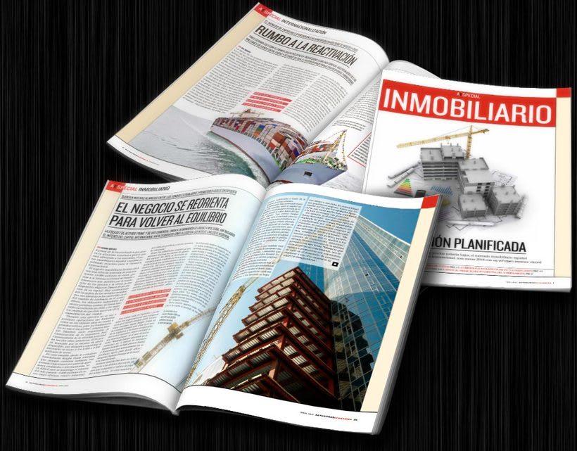 Diseño editorial: Actualidad Económica 0