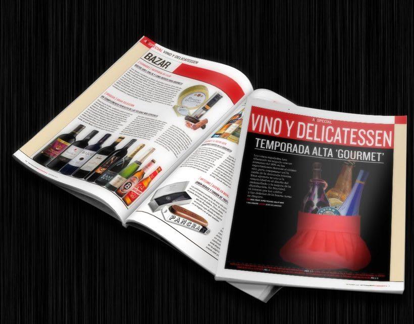 Diseño editorial: Actualidad Económica 3