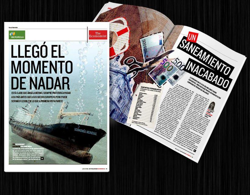 Diseño editorial: Actualidad Económica 4