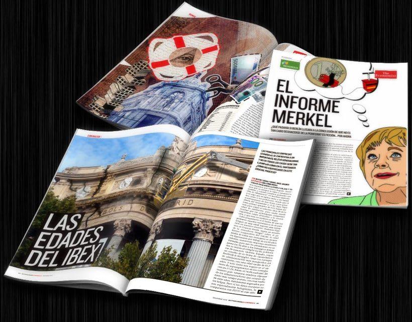 Diseño editorial: Actualidad Económica 8