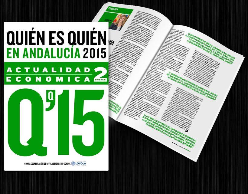 Diseño editorial: Actualidad Económica 9
