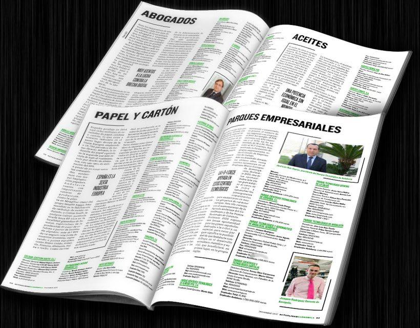 Diseño editorial: Actualidad Económica 10