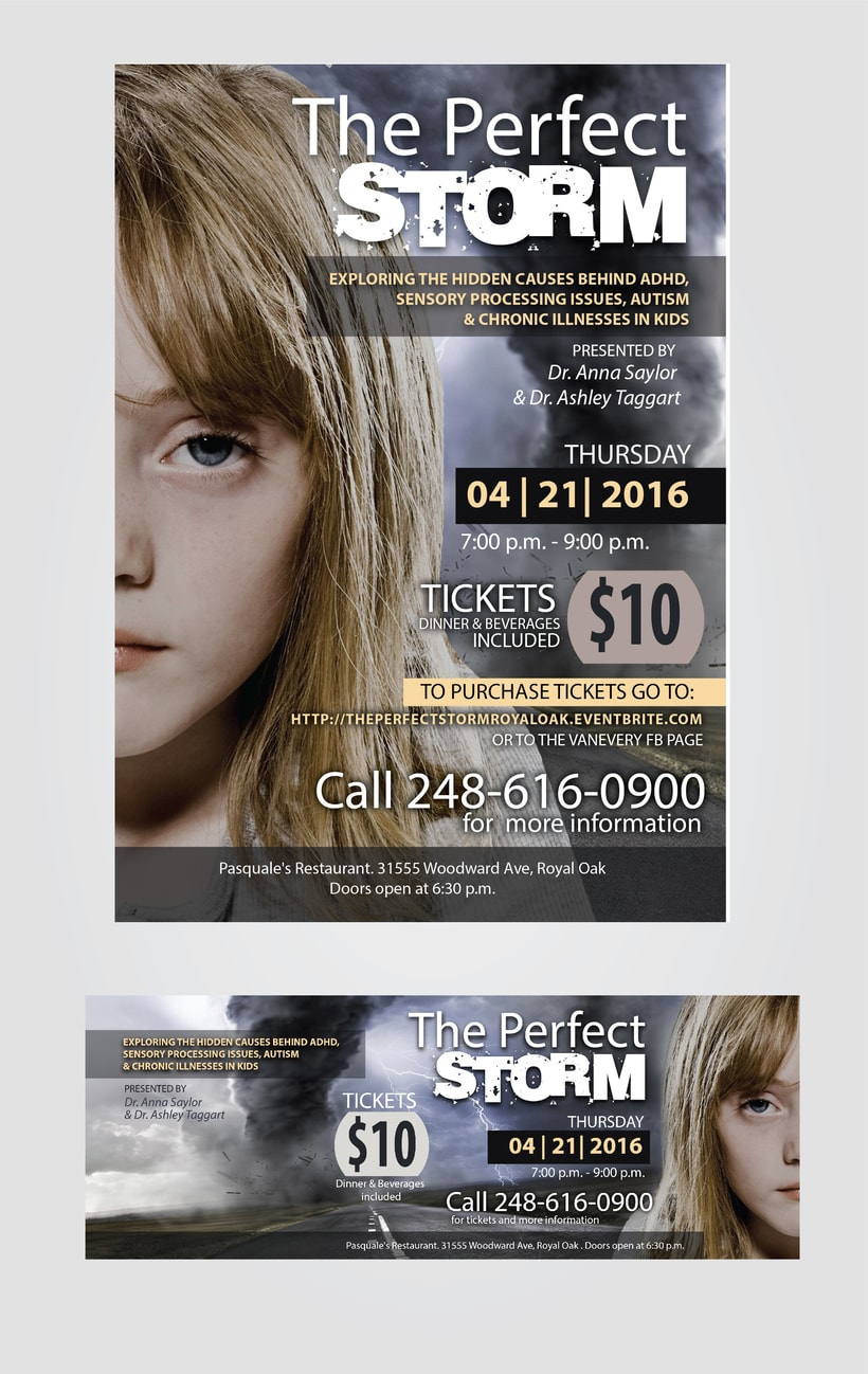 [FLYER] Van Every Chiropractic Center - THE PERFECT STORM 0