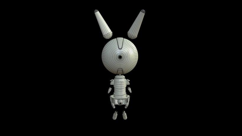 D- Rabbit (3d model) 4