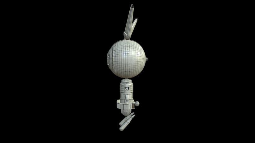 D- Rabbit (3d model) 5