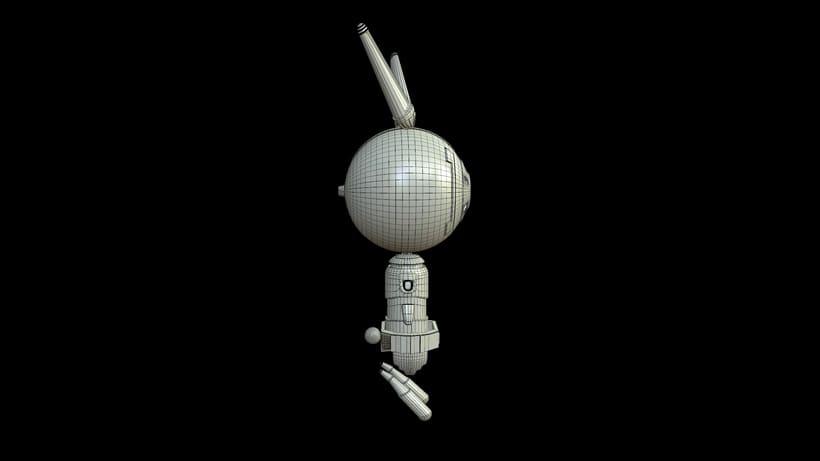D- Rabbit (3d model) 7