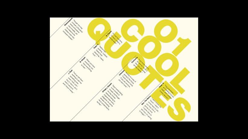 Things & Stuff: Una pequeña zine que servirá de carta de presentación como diseñador. 8