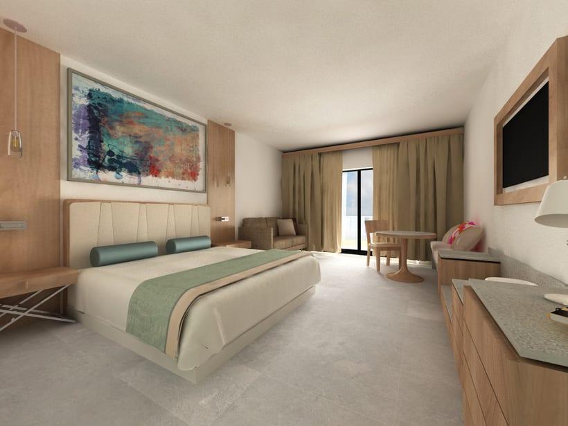 Habitación de Hotel Splash -1