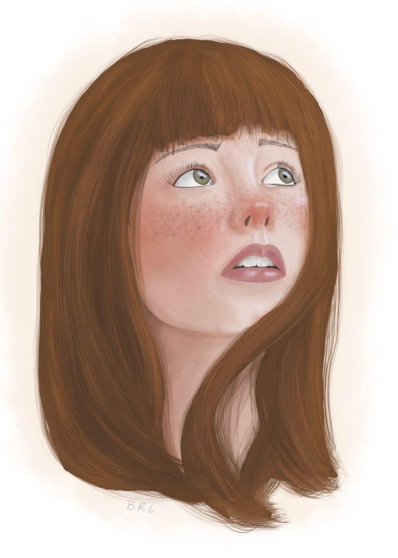 Retrato con Procreate1 0