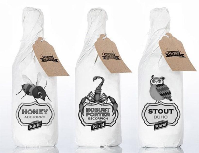 Ilustraciones para packaging 1