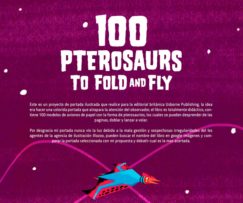 100 PTEROSAURS TO FOLD AND FLY -1