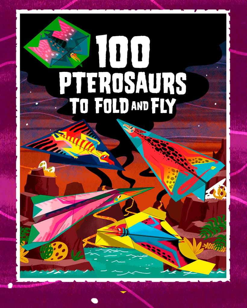 100 PTEROSAURS TO FOLD AND FLY 0