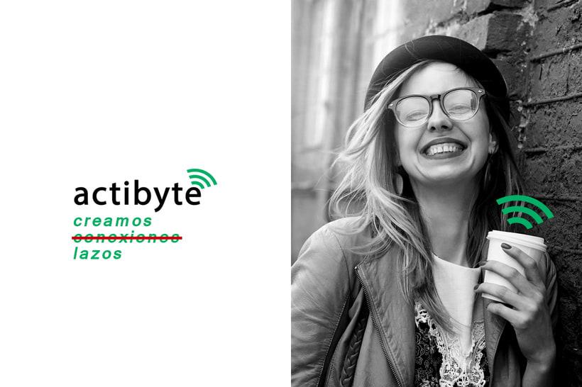 Rebranding para la empresa ActiByte 0