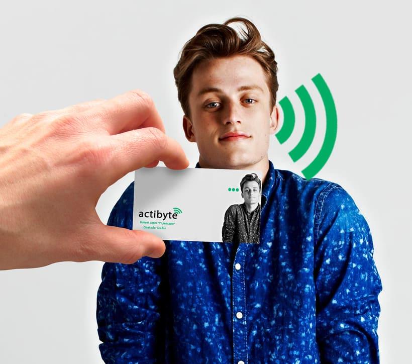 Rebranding para la empresa ActiByte 1