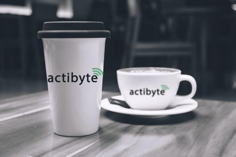 Rebranding para la empresa ActiByte 2