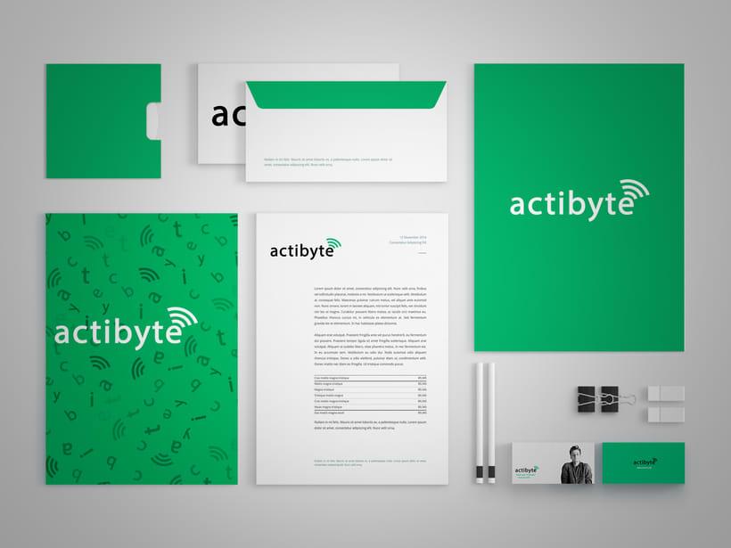 Rebranding para la empresa ActiByte 4