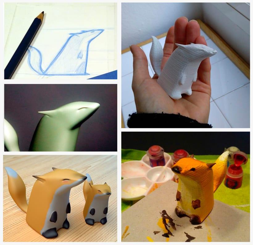 Mi Proyecto del curso: Crea un Art Toy 0