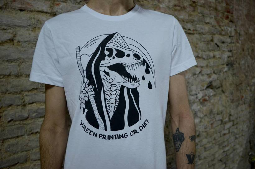 Screen Printing Or Die! [Nuwanda Estudio Logo] 5