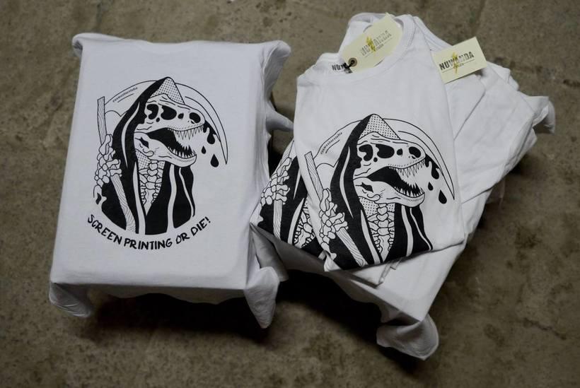 Screen Printing Or Die! [Nuwanda Estudio Logo] 4