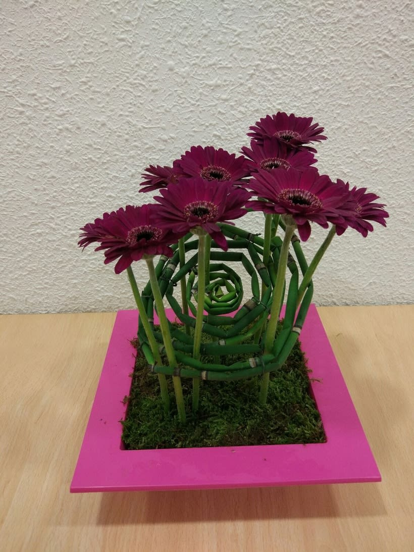 Centro Formal Paralelo en formación. Arte Floral -1