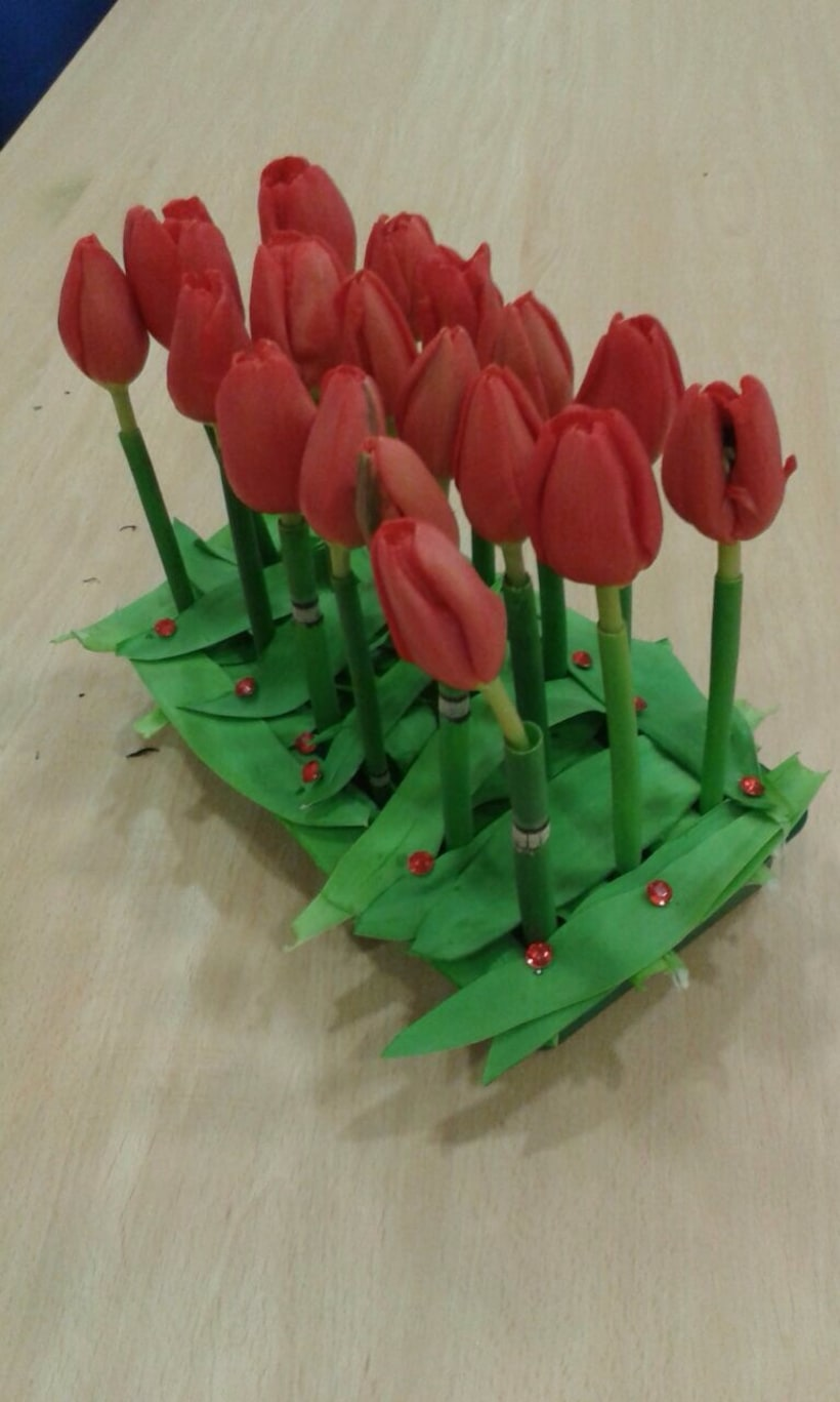 Centro Formal Paralelo en formación. Arte Floral 0