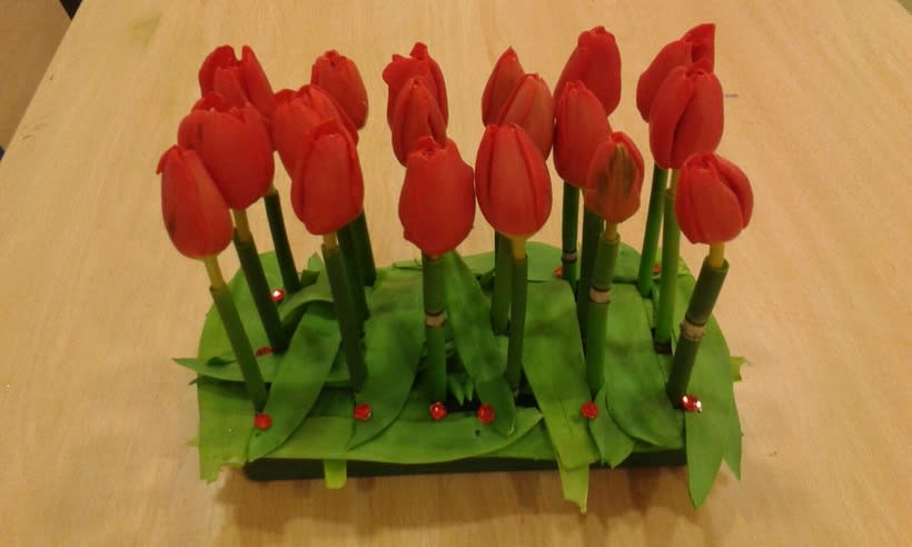 Centro Formal Paralelo en formación. Arte Floral 1