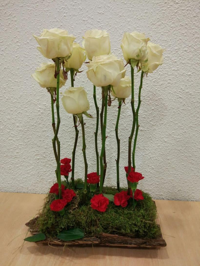Centro Formal Paralelo monocultivo. Arte Floral 0