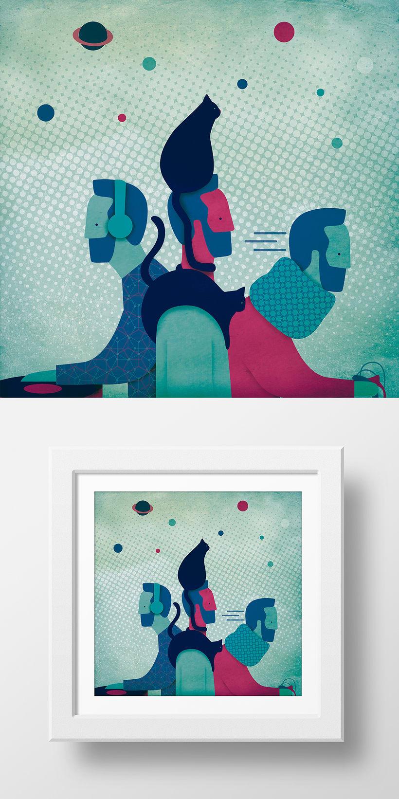 """Retrato """"Tinocat"""" -1"""