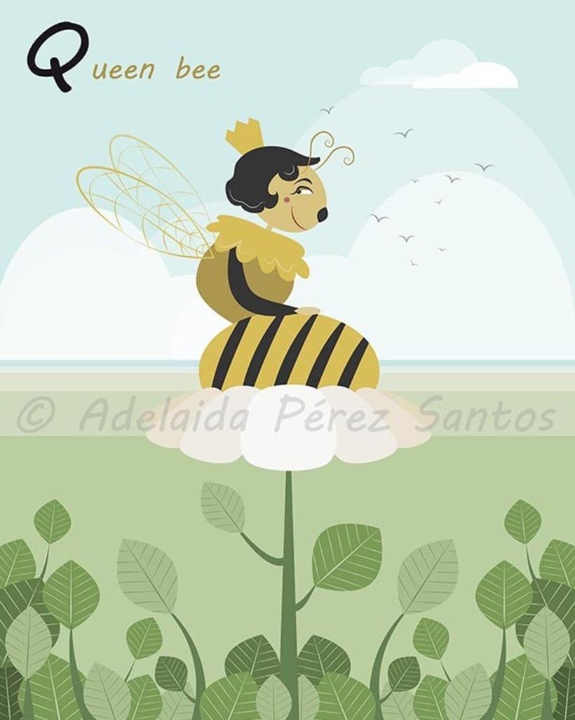 Queen bee -1