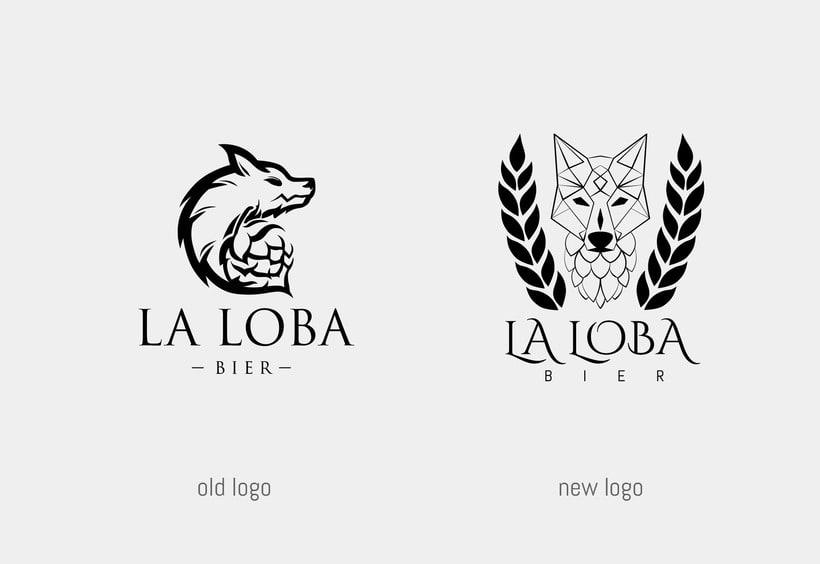 La Loba Bier - Rebranding 2