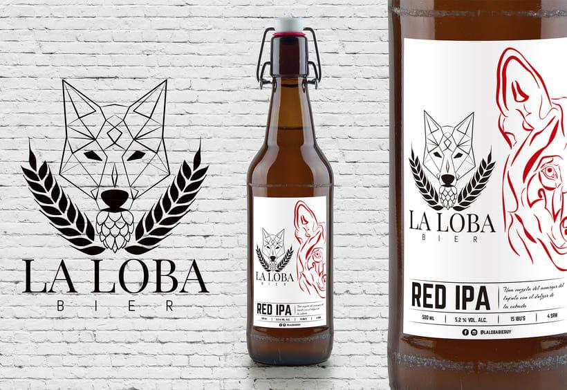 La Loba Bier - Rebranding 3
