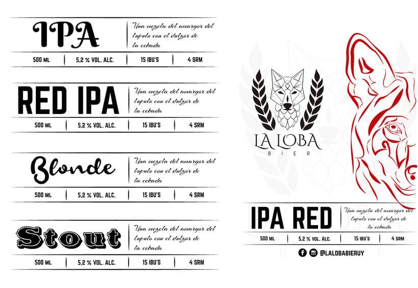 La Loba Bier - Rebranding 4