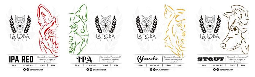 La Loba Bier - Rebranding 6