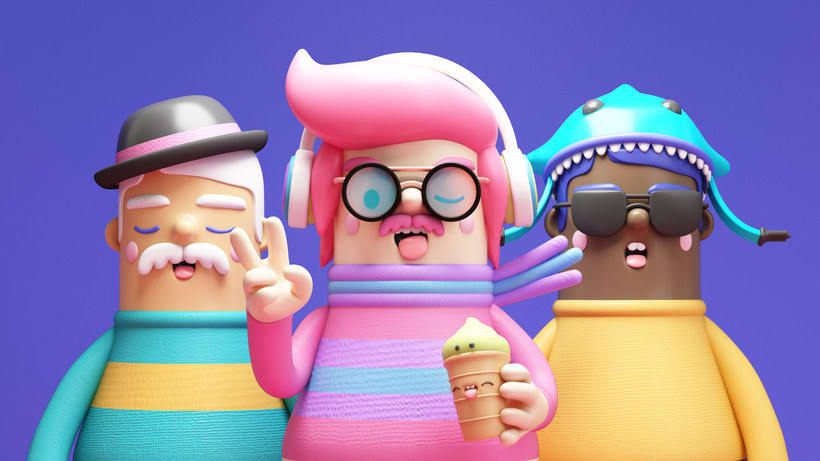 El diseño 3D a todo color de Fernando Parra 1
