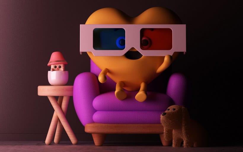 El diseño 3D a todo color de Fernando Parra 3