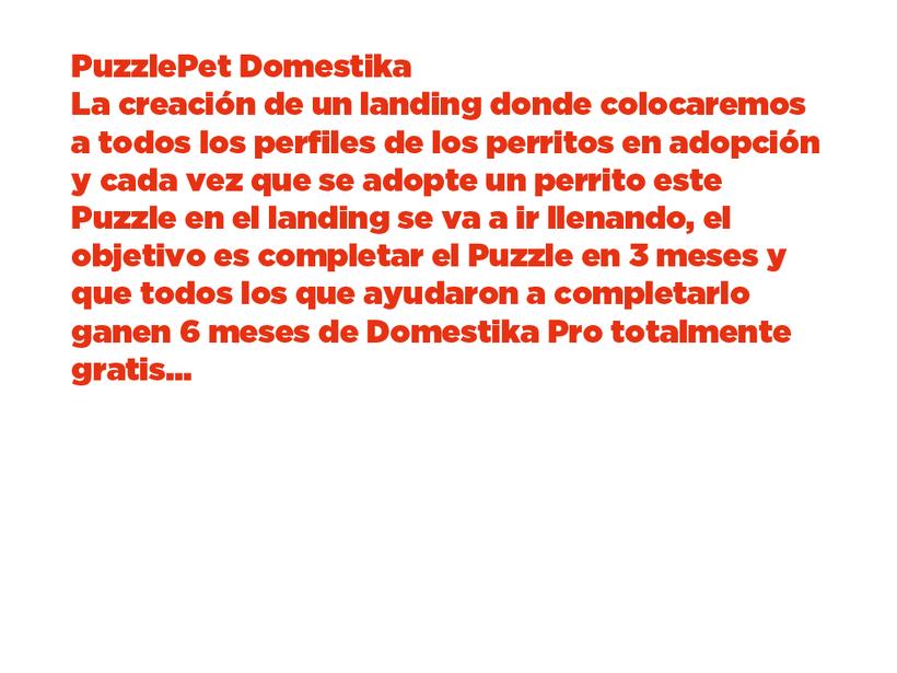 Mi Proyecto del curso: PuzzlePet Domestika 8