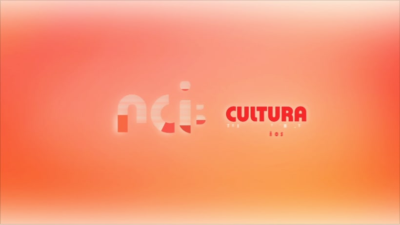 Identidad visual TV NCI CULTURA 7