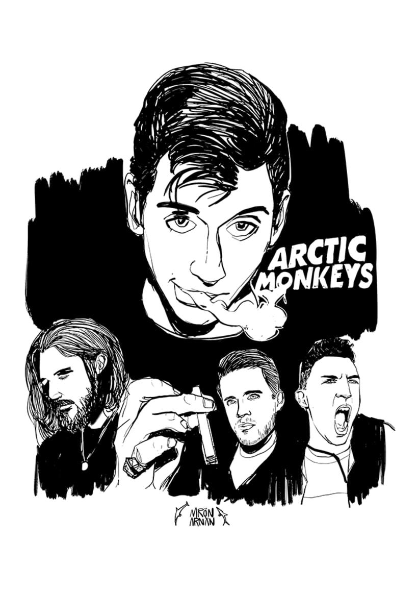 Arctic Monkeys Music Pill -1