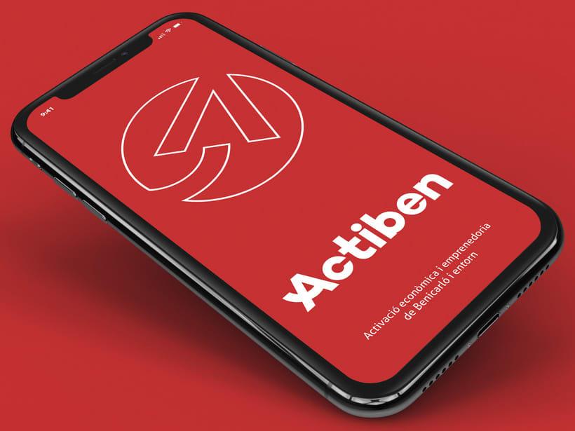 Actiben - Identidad corporativa 4