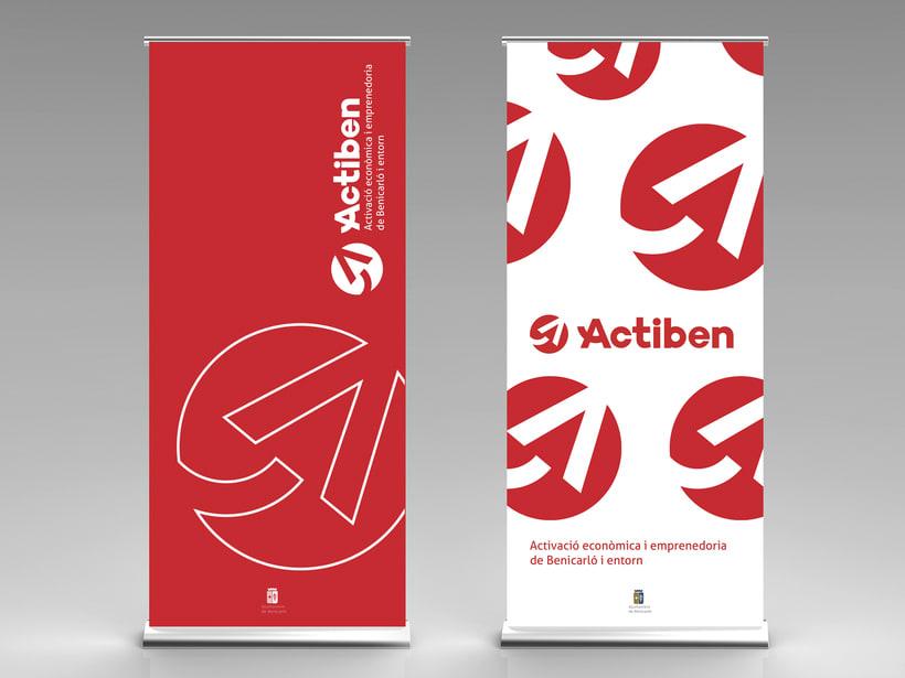 Actiben - Identidad corporativa 13