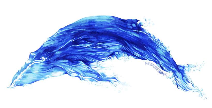 Serie Aquarium (Dibujos técnica mixta y retoque digital) 0
