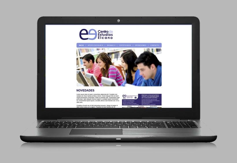 Web Centro de Estudios Elcano 0