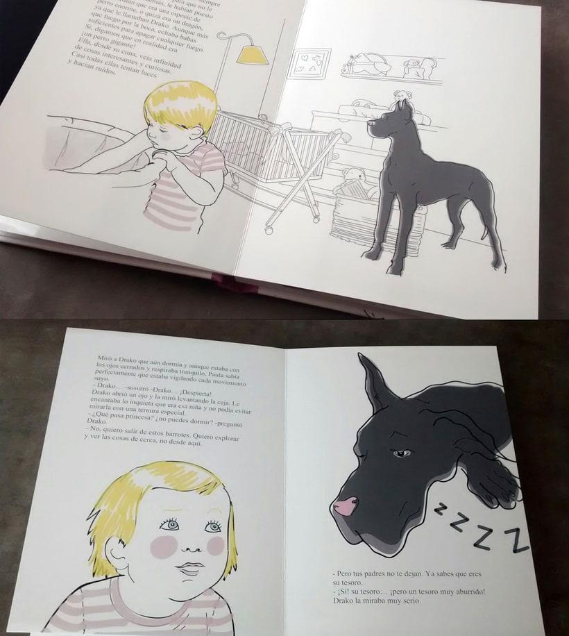"""Ilustraciones """"Las Aventuras de Paula"""" -1"""