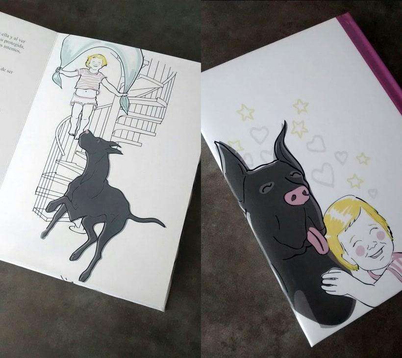 """Ilustraciones """"Las Aventuras de Paula"""" 0"""