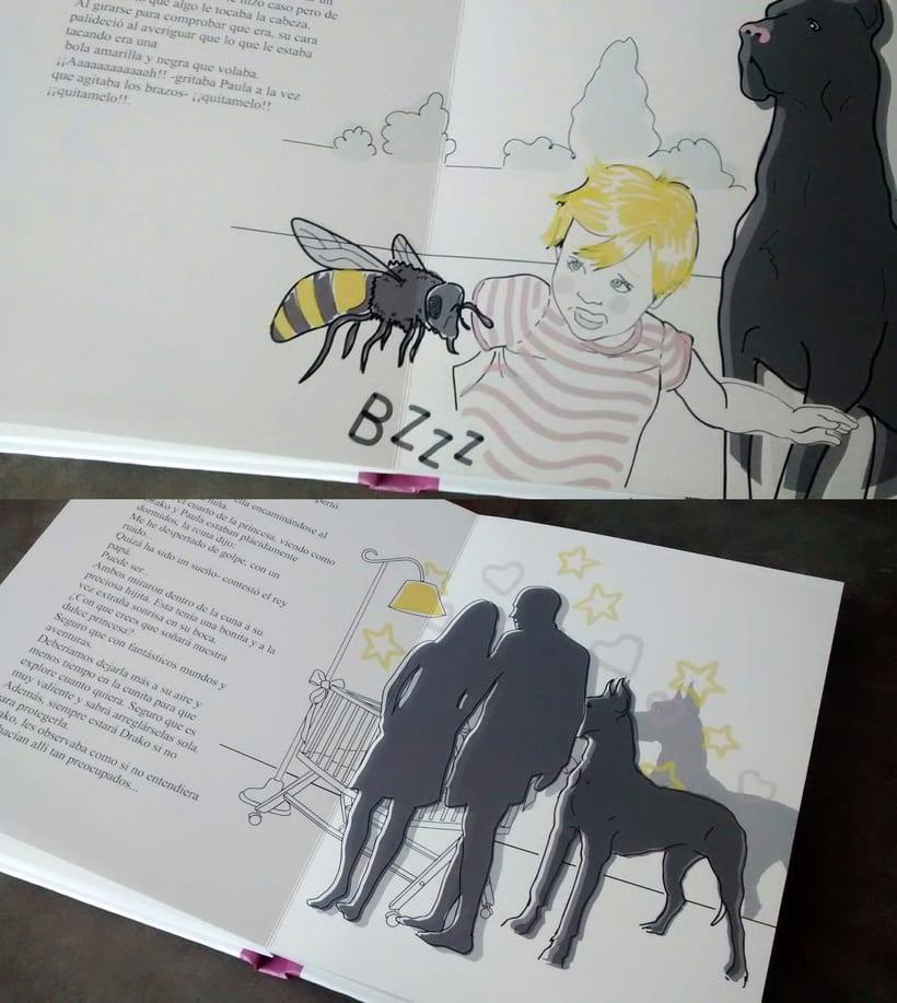 """Ilustraciones """"Las Aventuras de Paula"""" 1"""