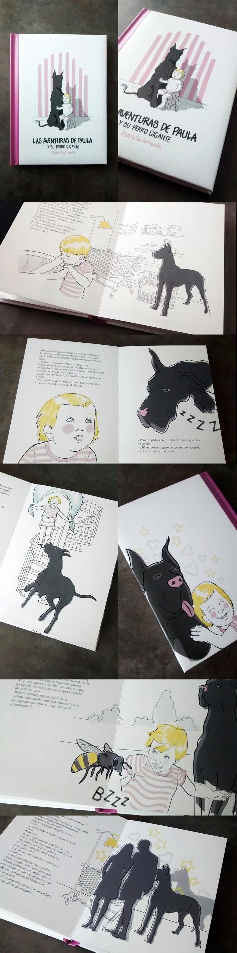 """Ilustraciones """"Las Aventuras de Paula"""" 2"""