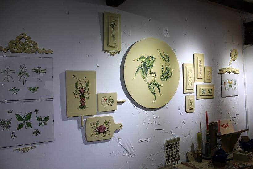 Muestra de Dibujo y Pintura Espacio Pétula Plas -1