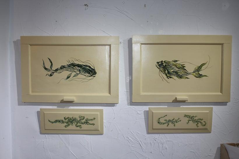Muestra de Dibujo y Pintura Espacio Pétula Plas 1
