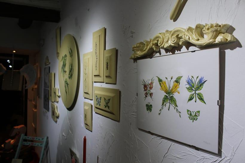 Muestra de Dibujo y Pintura Espacio Pétula Plas 2