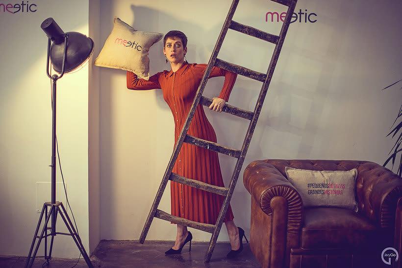 Sesión de fotos a Maria León - Meetic 9